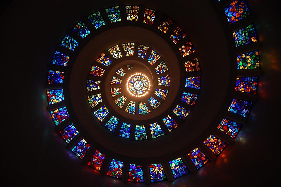 Licht-Advents-Spirale